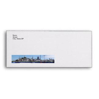 San Francisco Panorama Envelope