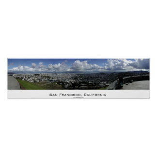 San Francisco Panorama Poster