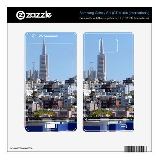San Francisco Panorama Samsung Galaxy S II Decal
