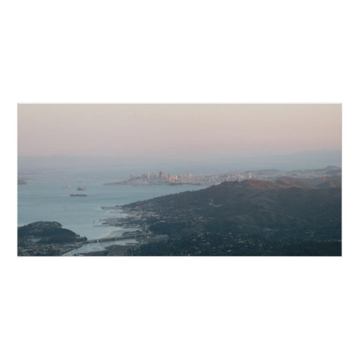 San Francisco panorámico Poster
