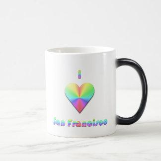 San Francisco -- Pastels Magic Mug