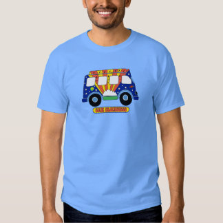 San Francisco Peace Bus Sixties Psychedelic T-Shirt