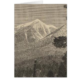 San Francisco Peak Card