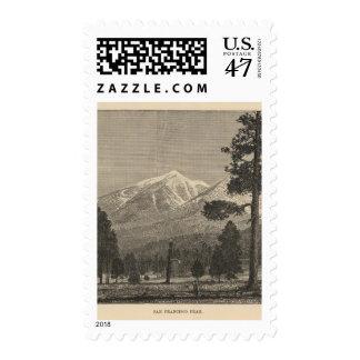 San Francisco Peak Stamp