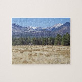 San Francisco Peaks puzzle