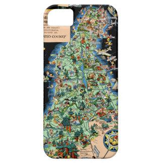 San Francisco Peninsula Funny Map iPhone SE/5/5s Case