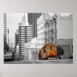 San Francisco Photo Art - Nob Hill Poster