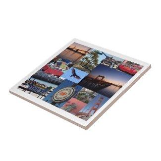 San Francisco Photo Tile