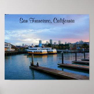 San Francisco Pier 39 #3-2 Poster