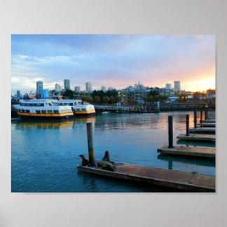San Francisco Pier 39 #4 Poster
