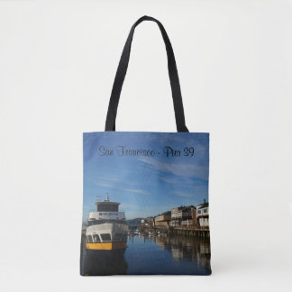 San Francisco Pier 39 #6 All Over Print Tote Bag