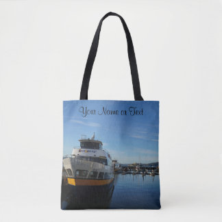 San Francisco Pier 39 #7 All Over Print Tote Bag