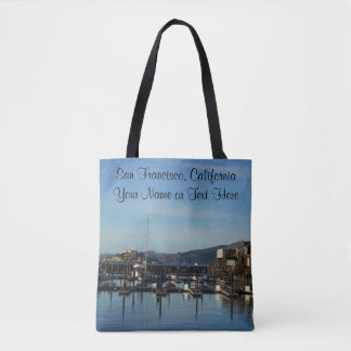 San Francisco Pier 39 #8 All Over Print Tote Bag