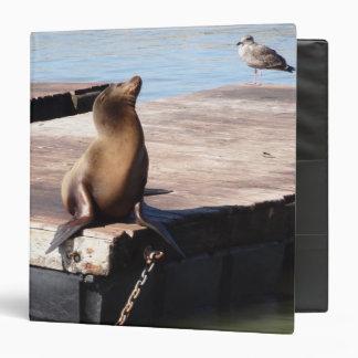 San Francisco Pier 39 Sea Lion Binder