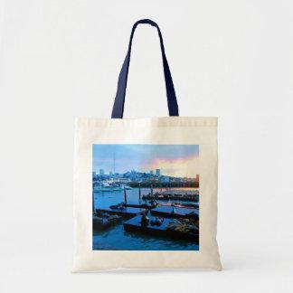 San Francisco Pier 39 Sea Lions #5-2 Tote Bag