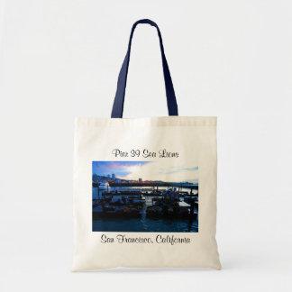 San Francisco Pier 39 Sea Lions #6-2 Tote Bag
