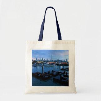 San Francisco Pier 39 Sea Lions #7-1 Tote Bag