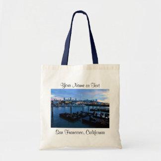 San Francisco Pier 39 Sea Lions #7-2 Tote Bag
