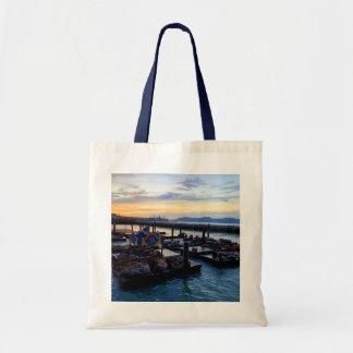 San Francisco Pier 39 Sea Lions #9 Tote Bag