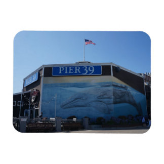 San Francisco Pier 39 Whale Mural Magnet