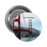 San Francisco Pin Redondo De 2 Pulgadas