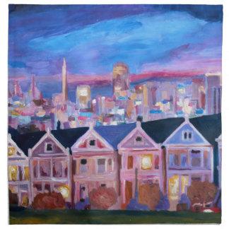 San Francisco pintó a señoras Servilletas De Papel