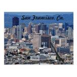 San Francisco, postal del CA