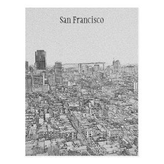 San Francisco! Postcard