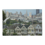 San Francisco Postcard Row City Scene Photography Placemat