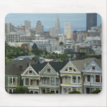 San Francisco Postcard Row Mousepad