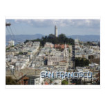 San Francisco Postcard Style