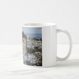 San Francisco Postcard Style Coffee Mug