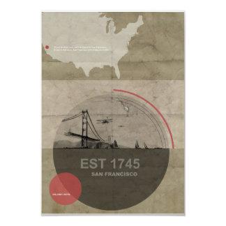 San Francisco Poster Card