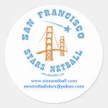 San Francisco protagoniza al pegatina redondo del