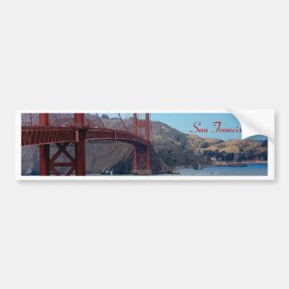 San Francisco puente Golden Gate Etiqueta De Parachoque