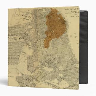 """San Francisco quemó el área, 1906 Carpeta 1 1/2"""""""