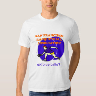 San Francisco Racquetball Assoc Tees