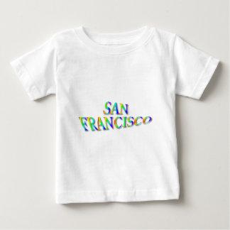 San Francisco Rainbow Baby T-Shirt