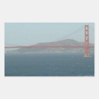 SAN FRANCISCO RECTANGULAR STICKER