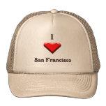 San Francisco -- Red & Black Hats