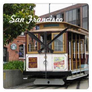 San Francisco Reloj Cuadrado