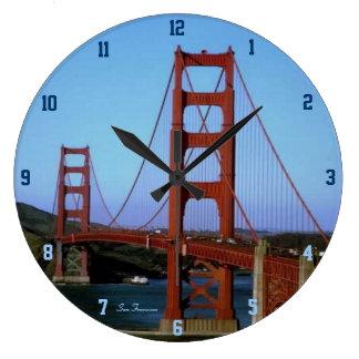 San Francisco Reloj Redondo Grande