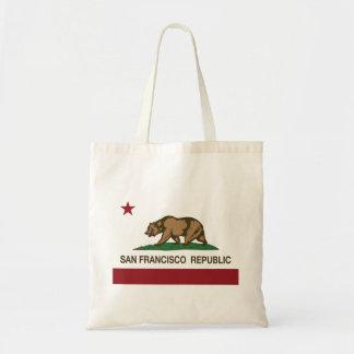 San Francisco Republic Flag Tote Bag