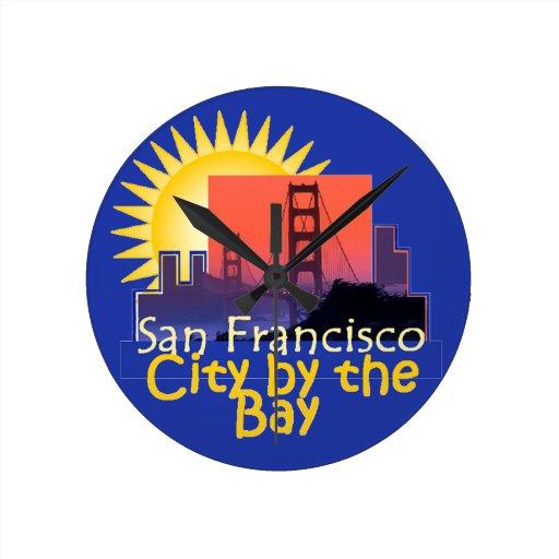 SAN FRANCISCO ROUND CLOCK