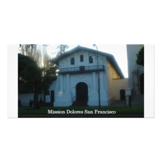 San Francisco s Mission Dolores Personalized Photo Card