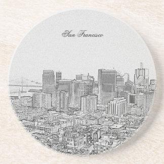 San Francisco Sandstone Coaster