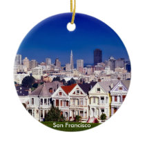 San Francisco Scenic Circle Ornament