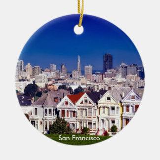San Francisco Scenic Circle Ornament