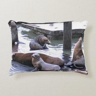 San Francisco Sea Lions Decorative Pillow