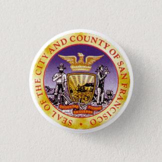 San Francisco Seal Button